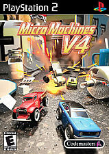 MICRO MACHINES V4 PS2 PLAYSTATION 2 DISC ONLY