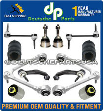 JAGUAR S-TYPE UPPER LOWER CONTROL ARM ARMS BALL JOINT BUSHING Tie Rod Rods KIT