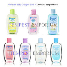 Johnsons Baby Cologne Selection 50ml Reg Morning Dew Heaven Travel Size New