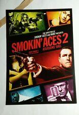 SMOKIN' ACES ASSASSIN'S BALL SMOKIN MOVIE PAPER FLYER MINI POSTER (NOT A movie )