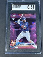 2018 Topps Chrome Pink Refractor #60 Amed Rosario Rookie SGC 8.5