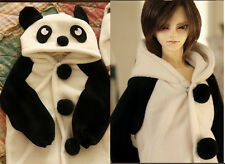 PANDA Pajamas Animal Outfit for BJD 1/6 1/4 1/3 SD Uncle Doll Clothes AL10