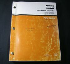 CASE 888 Crawler Excavator Parts Manual Book S/N From 74163 -74418 15201-15324