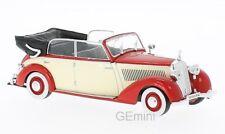Mercedes 230 W153 Cabriolet Red/Beige 1939 1/43 whitebox