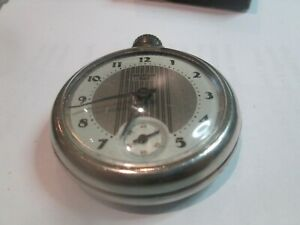 vintage pocket watch westclox dax with box and label