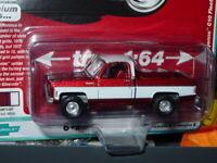 AUTO WORLD 1977 77 CHEVY CHEYENNE C-10 FLEETSIDE PICKUP TRUCK -Dark Red, MIP