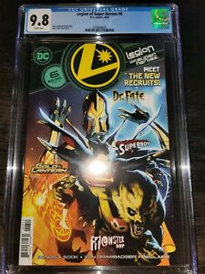 Legion of Super-Heroes #6 DC Coics 1st appearance of Gold Lantern CGC 9.8