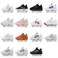 Fila Disruptor 2 / Script II Men Women Daddy Chunky Shoes Sneaker Pick 1