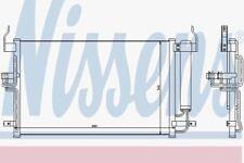 Nissens 94448 AC Kondensator Hyundai Lantra 00