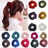 Fashion Velvet Elastic Hair Bands Scrunchy For Women or Girls Hair Accessories P