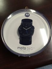 Motorola 00821NARTL Moto 360 2nd Generation Mens 42mm Smart Watch Black Gen