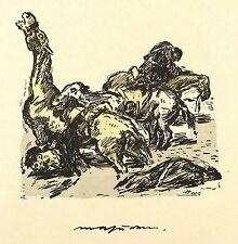 Rene beeh-Masuren-litografía & pochoir 1915