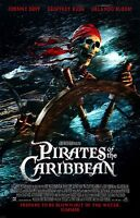 "Pirates Of The Caribbean movie poster  : 11"" x 17"" : Skellington Pirate"