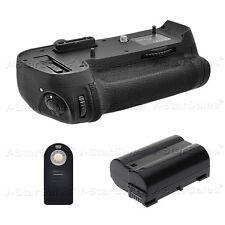Battery Grip for Nikon D800 D810 MB-D12 + EN-EL15 Battery + Universal Remote