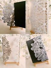 Laser Cut Card Blanks DIY Christmas Birthday Wedding Craft Arts Create Glitter