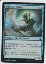 Saltwater Stalwart Battlebond-Magic the Gathering Foil Blue Common MTG CCG