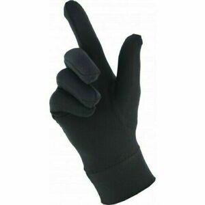 Lycra Silk Liner Thin Gloves Thermal Ski Inner Walking Cycling Motorbike