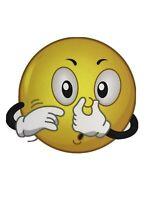 Septic Truck Pumper Sticker Emoji Plugging Nose