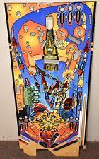 2007 Stern Spiderman Spider Man Pinball Playfield NOS