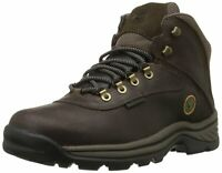 Timberland Mens white ledge Leather Round Toe Ankle Safety, Dark Brown, Size  QK