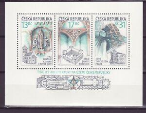 Tschechien Block  14 **   Architektur in Tschechien