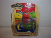 Chuggington Wooden Railway - Camouflage Brewster -  New in Package