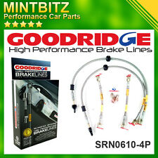 Renault Megane Series 2 (225 / F1 Phase 1) Zinc Plated Goodridge Brake Hoses