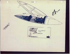 "G.I. GI Joe Cobra Hurricane (Cockpit) Model Cel ""PHOTO"" 80-90's Cartoon 1990 Dic"