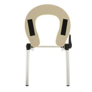 ABS Adjustable Face Cradle Headrest Neck Pillow Cushion For Salon Table