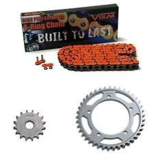 2001-2005 Suzuki GSXR 600 O-Ring Chain and Sprocket Kit - Orange