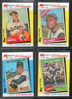 Roberto Clemente WRONG BACK  CARD 1982 TOPPS Kmart 20th Anniversary RARE L#52