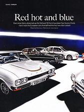 1966 Ford Lotus cortina 1987 Sierra Cosworth Car Review Print Article J360