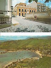 Puerto Rico. Old San juan, Las Croabas Beach. Vintage Postcards.