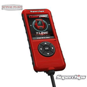 SUPERCHIPS FLASHPAQ F5 TUNER FOR 01-16 CHEVY SILVERADO GMC SIERRA GAS 2845