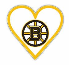 Boston Bruins Heart Nhl Sticker Vinyl Decal 4-1309