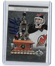 MARTIN BRODEUR 2012/13 PANINI LIMITED TROPHY WINNERS AUTOGRAPH #30/50 -jersey#