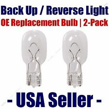 Reverse/Back Up Light Bulb 2pk - Fits Listed Toyota Vehicles - 921