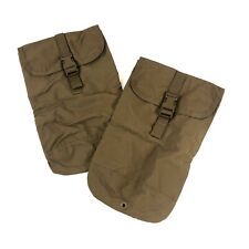 2 Usmc Hydration Pouches, Coyote Brown, Us Marine Corps 100oz Molle Water Pouch
