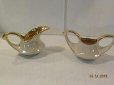 Pearl China Co. Vintage Cream and Sugar Bowls