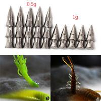 0.5/1gTungsten gusano de pesca insertar peso Pagoda clavo loco lápiz de pl_QA