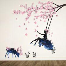 Butterfly Kids Flower Wall Art Bedroom Wall Sticker Decoration Room Decal