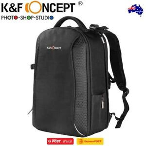 AU *K&F Concept KF13.083 Classic DSLR Camera Outdoor Travel Backpack (XL, Black)