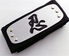 Dz609 On Sale�� �者 Ninja Naruto Leaf Black Headband Head Band Cosplay ♫