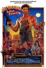 Big Trouble in Little China Movie POSTER 27 x 40, Kurt Russell, A, LICENSED NEW