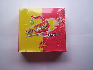 Swizzels Snap and Crackle chewy Bar Box of 60
