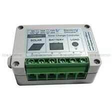 15A Solar Charge Controller 12V/24V With Time & Light Sensor System Accessory