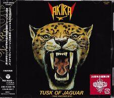 TUSK OF THE JAGUAR 2016 REMASTER JAPAN CD by LOUDNESS GUITARIST AKIRA TAKASAKI