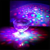 LED Lampe Flottant Sous-marin Bain Spa Hot Tub Disco Piscine Partie JacWLFR
