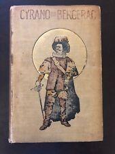 Cyrano de Bergerac First Edition 1898 Rostand Geo. Munro Hardcover Mansfield 1st