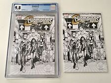 2016 CHAMPIONS 1 CGC 9.8 1st PRINT Humberto Cover BW Newbury Variant & Free Copy